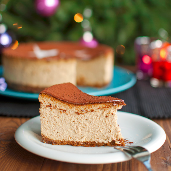 The Tough Cookie | Tiramisu Cheesecake | thetoughcookie.com