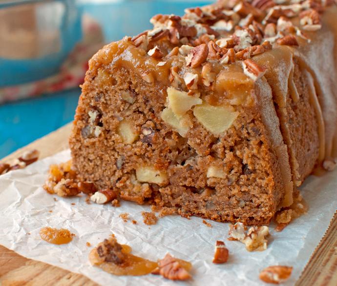 Brown Sugar Glazed Apple Bread