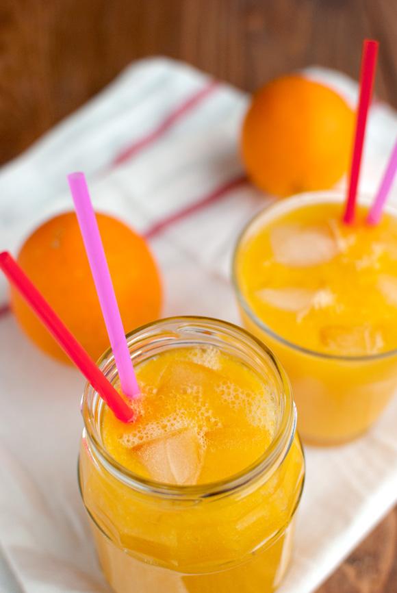 Mango and Orange Smoothie