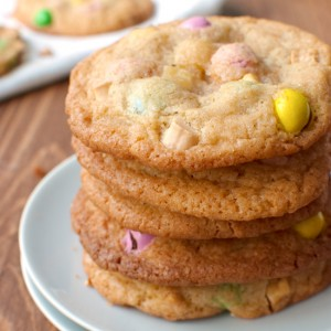 M&M Cookies Featured