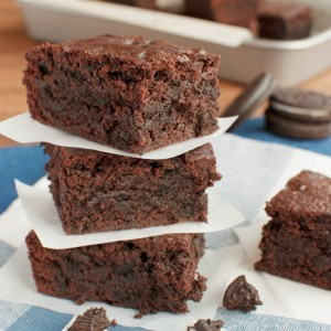 Fudgy Oreo Brownies Featured