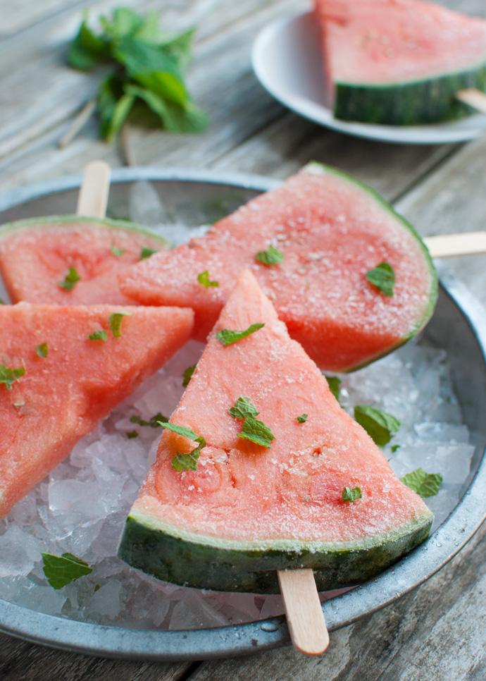 Healthy Watermelon Pops