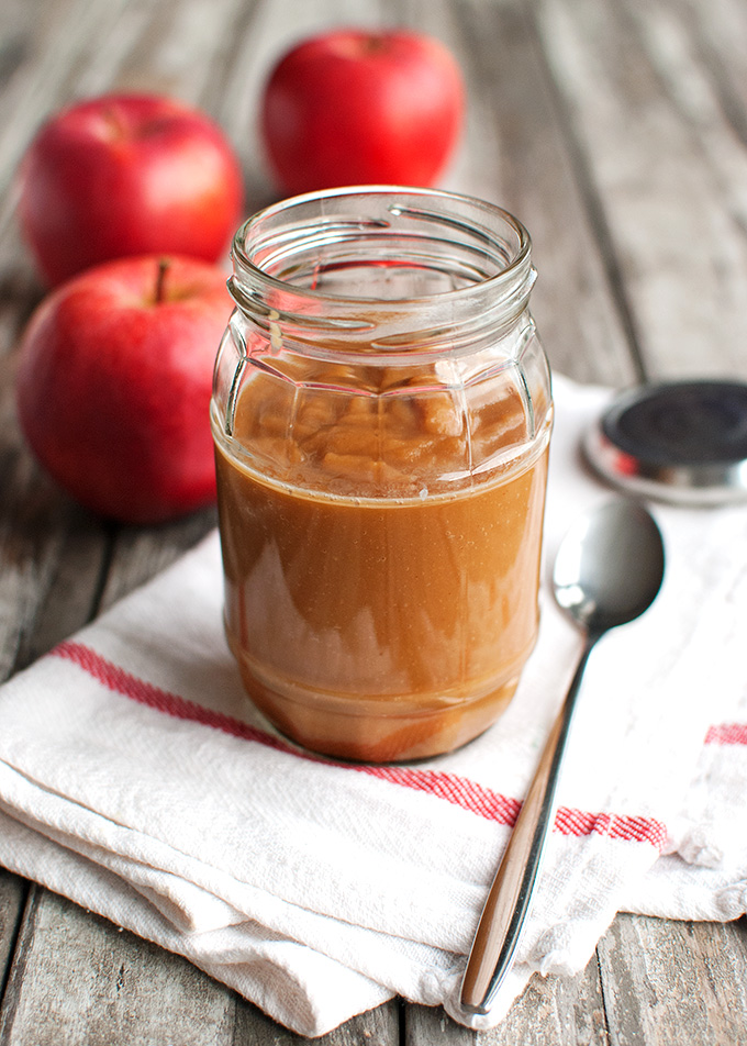 Homemade Caramel Apple Sauce