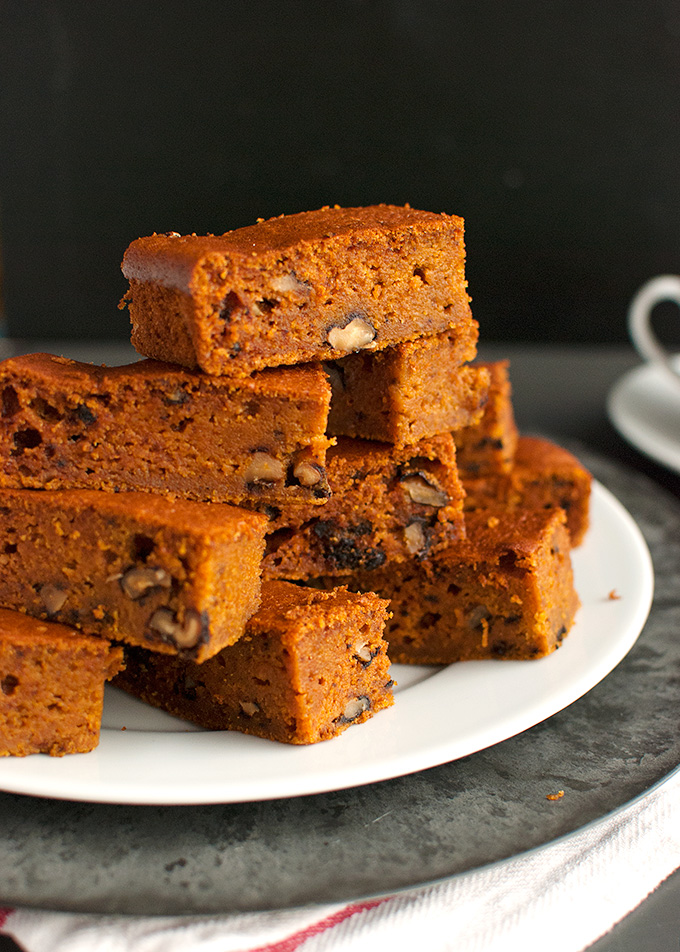 ... Pumpkin Bars with Walnuts, aka: Pumpkies Revisited - The Tough Cookie