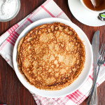 Awesome Whole Wheat Pancakes with Oats and Cinnamon