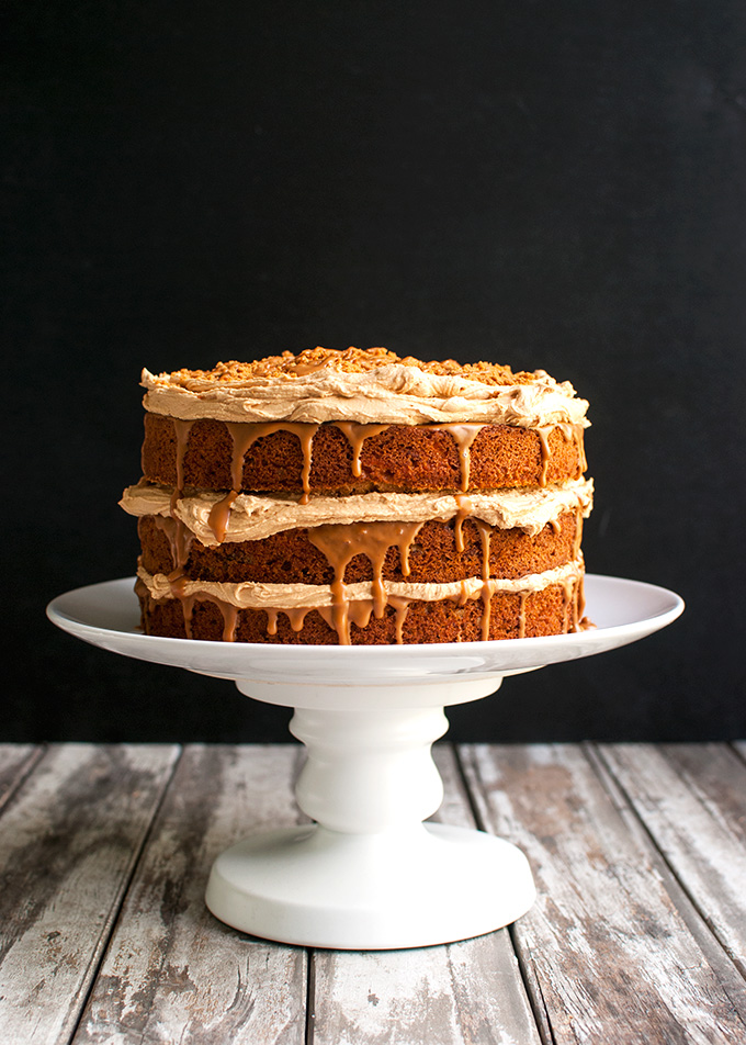 ... Biscoff frosting and Biscoff cookie butter, and topped with Biscoff