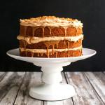 Triple Biscoff Carrot Cake