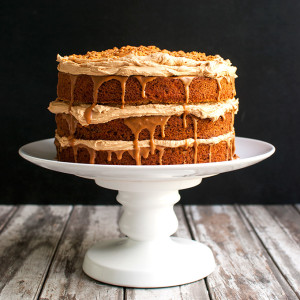 The Tough Cookie | Triple Biscoff Carrot Cake - Carrot Cake Studded with Pecans and Filled with Biscoff Frosting and Cookie Butter | thetoughcookie.com