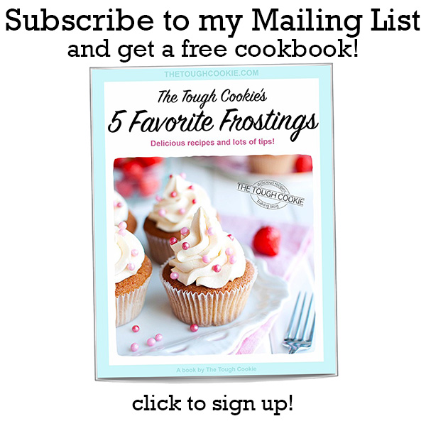 The Tough Cookie - Five Favorite Frostings Ebook