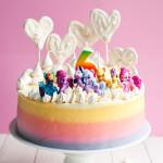 Super Cute My Little Pony Cake