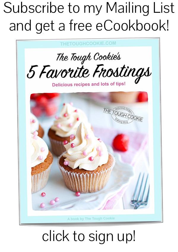 Five Favorite Frostings Free eCookbook