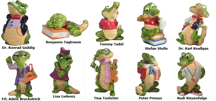 Kinder Surprise Crocodiles