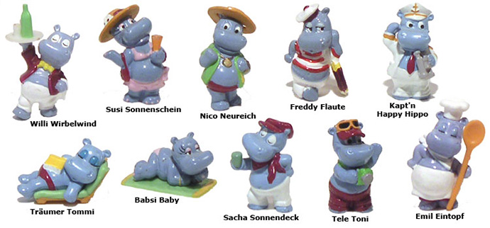 Kinder Surprise Hippo's