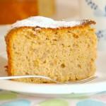 Lemony Chestnut Cake