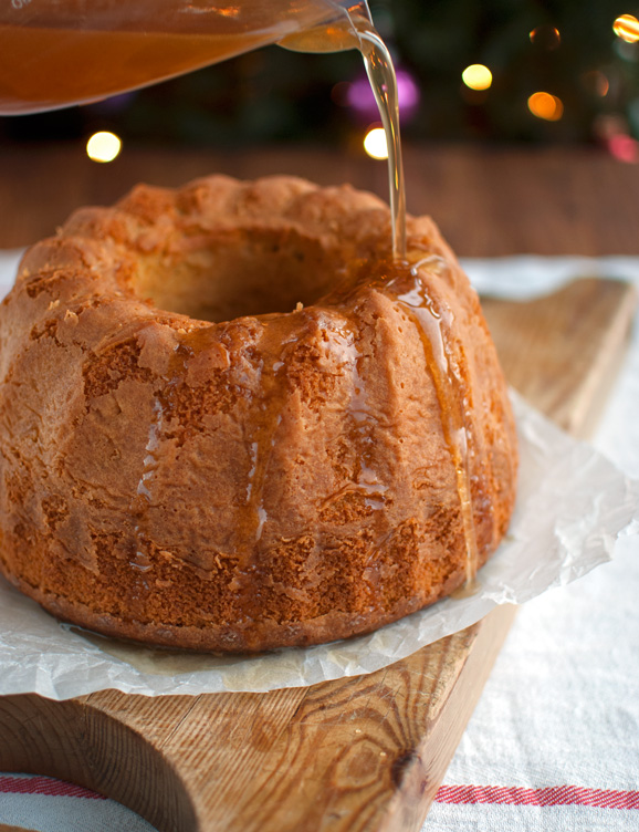 Spiced Honey Syrup Bundt Cake with Mead