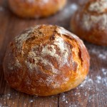 No-Knead Cheese Bread