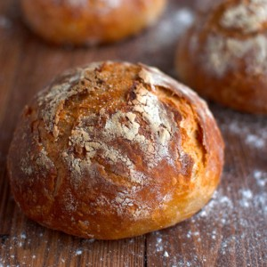 No Knead Cheese Bread