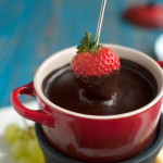 Spicy Chocolate Fondue for Two
