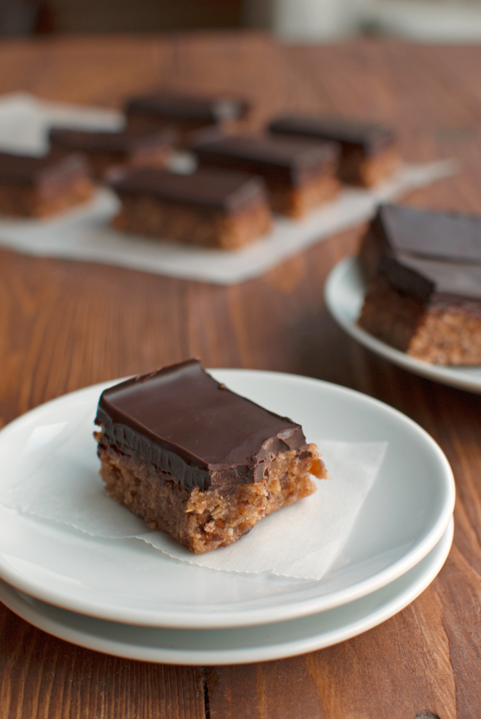 Almond and Coconut Candy Bars