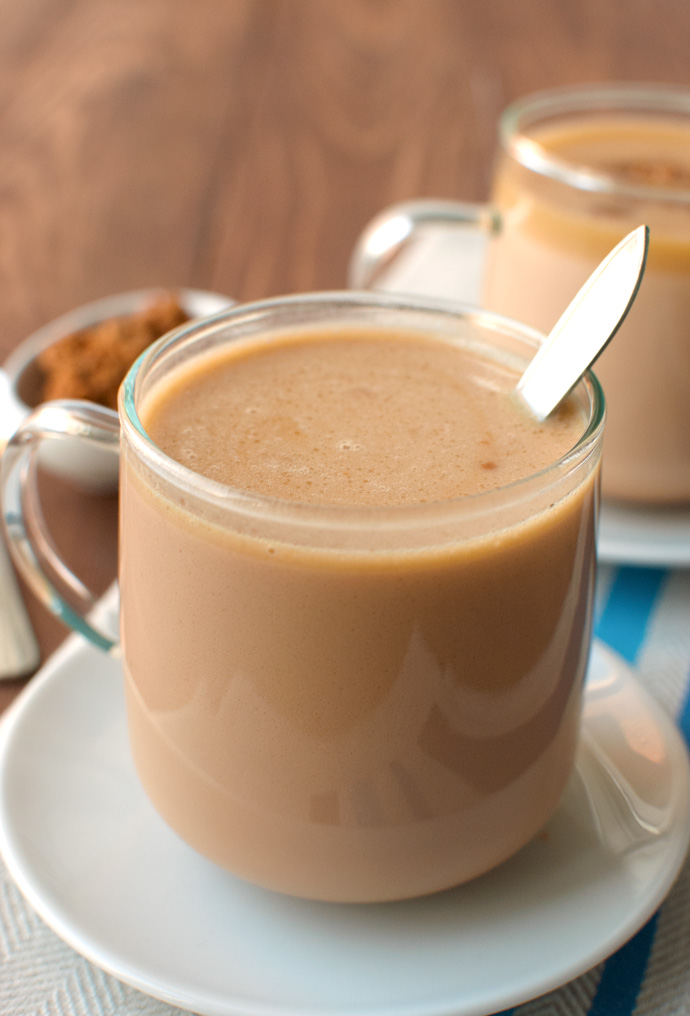 The Tough Cookie | Caramelized White Hot Chocolate | thetoughcookie.com