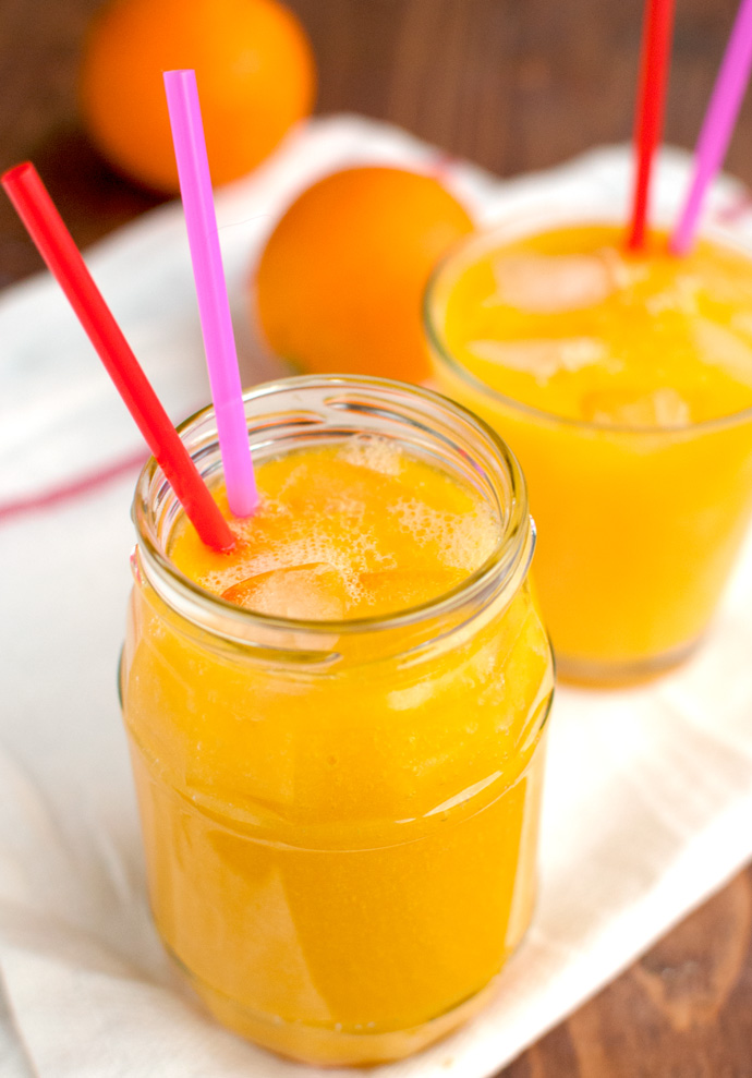 Mango and Orange Smoothies