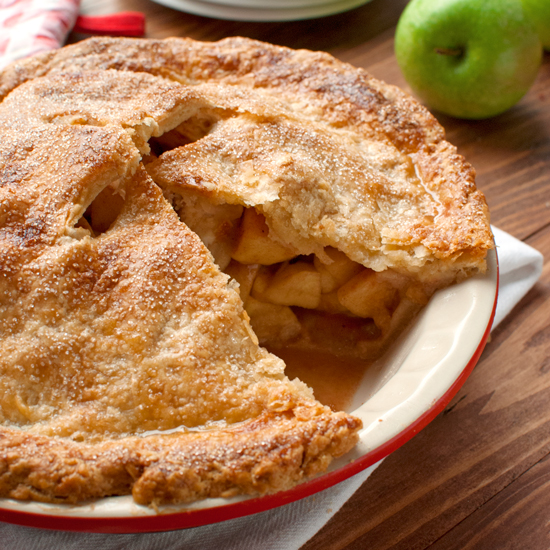 Classic Apple Pie American Style First Failed Try
