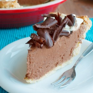 French Silk Pie Featured