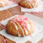 Soft-Baked Zingy Raspberry Jam Cookies with Homemade Raspberry Sugar
