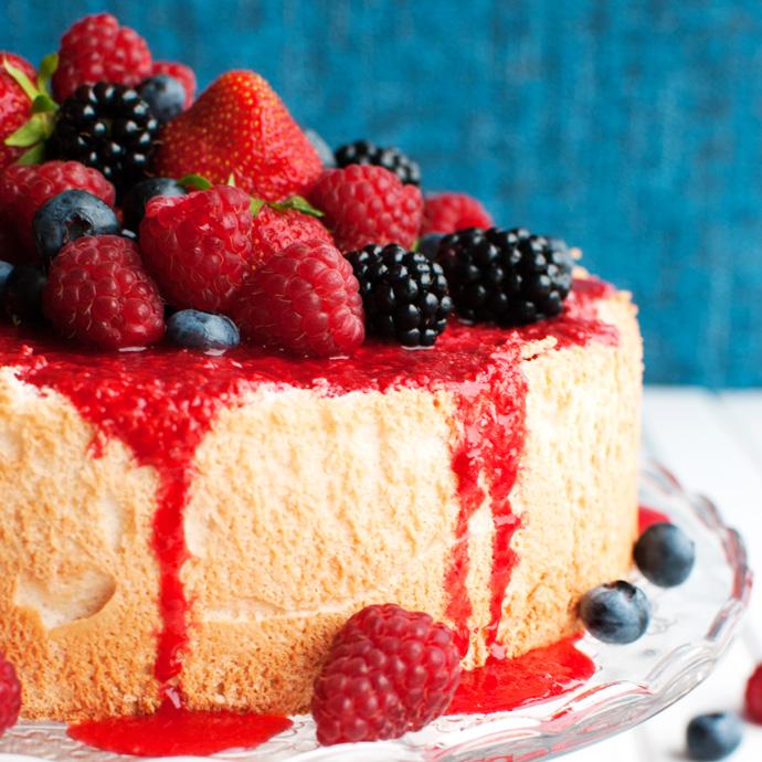 Raspberry Sauce For Angel Food Cake
