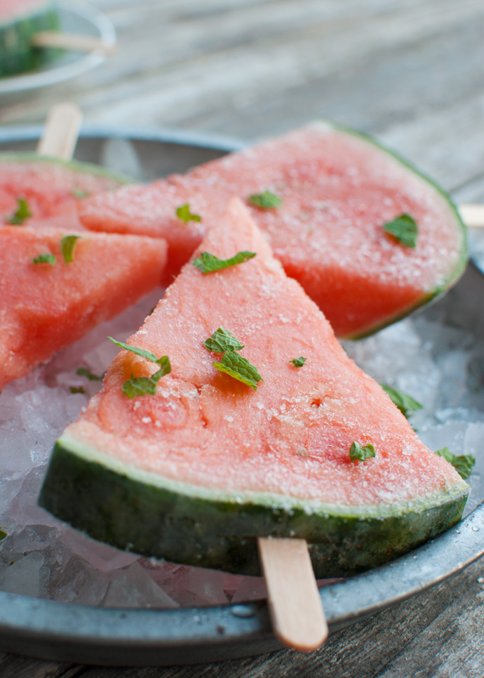 Healthy Watermelon Pops