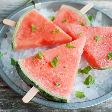 Super Healthy Watermelon Pops