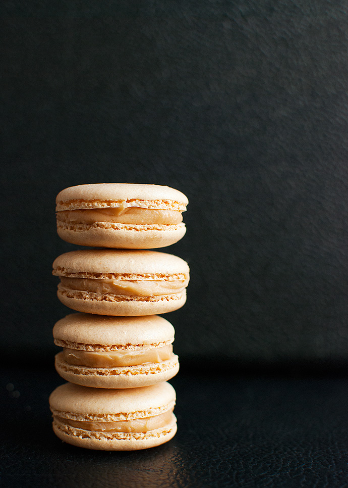 The Tough Cookie | Salted Caramel Macarons | thetoughcookie.com
