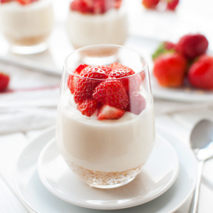 Individual No-Bake Lemon Cheesecakes Featured