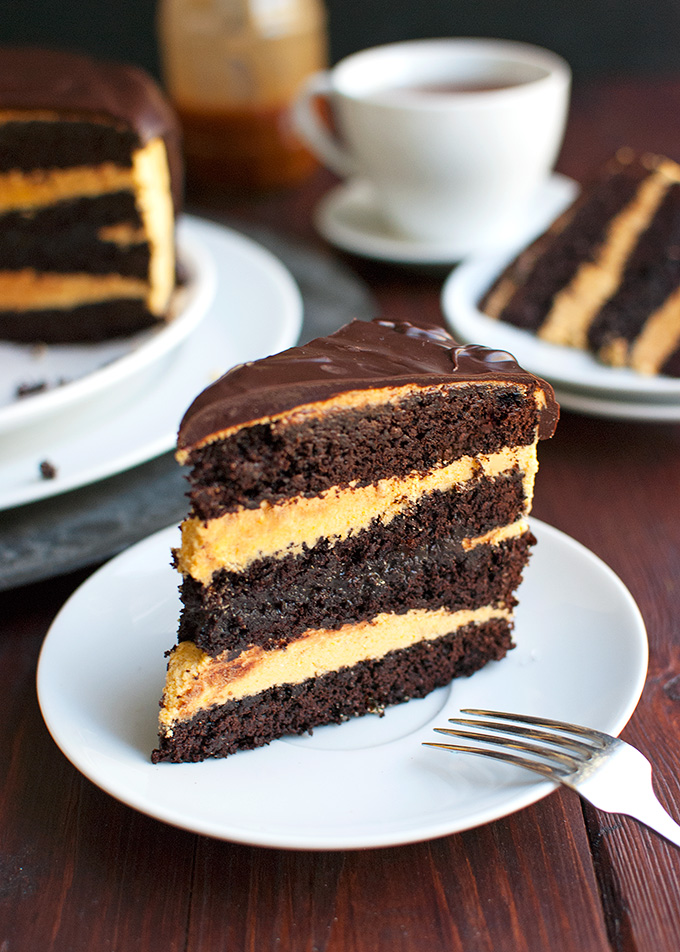 Spicy Dark Chocolate Cake