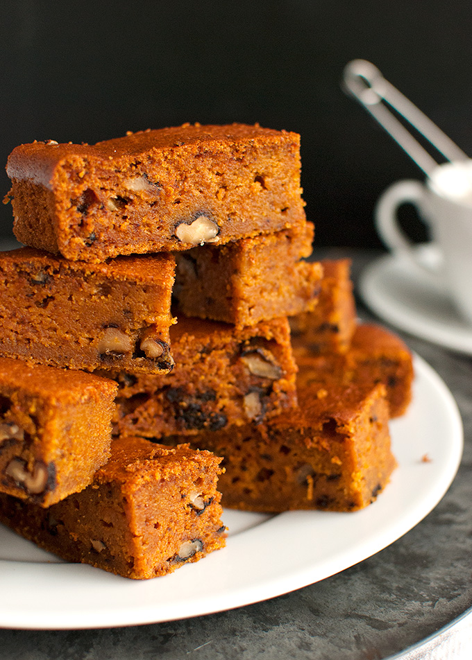 Spicy Pumpkin Bars with Walnuts, aka: Pumpkies Revisited ...