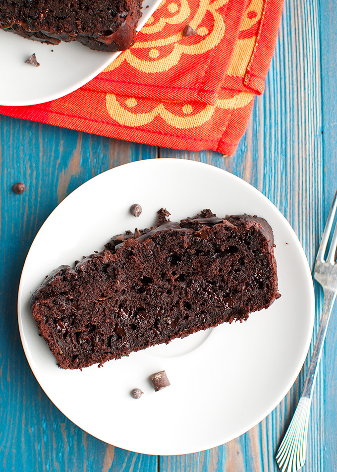 The Tough Cookie | Double Chocolate Zucchini Bread | thetoughcookie.com