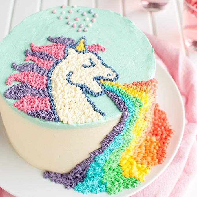 Puking Unicorn Cake The Tough Cookie