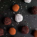 Chocolate Cream Cheese Truffles - These delicious no-bake treats are super chocolatey and incredibly easy to make. You only need 4 ingredients to make them! | thetoughcookie.com
