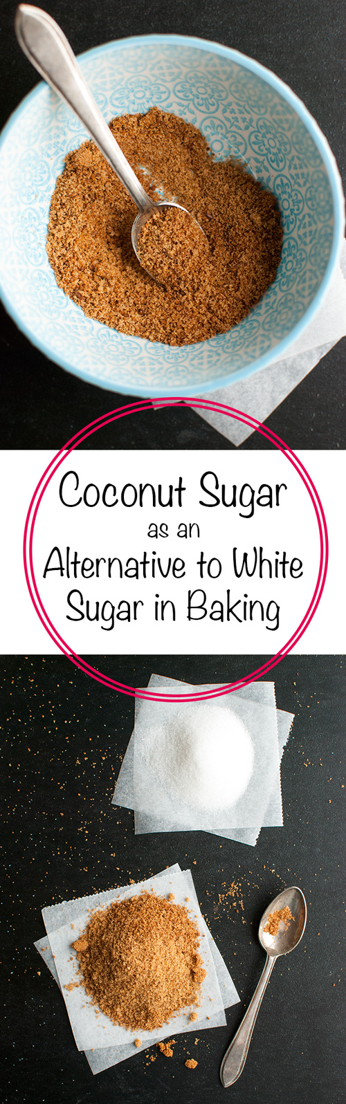Coconut Sugar as an Alternative to White Sugar - This post explains everything you need to know about baking with coconut sugar! | thetoughcookie.com