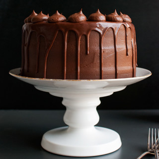 Mock Version of Proof Bakery's Chocolate Espresso Cake