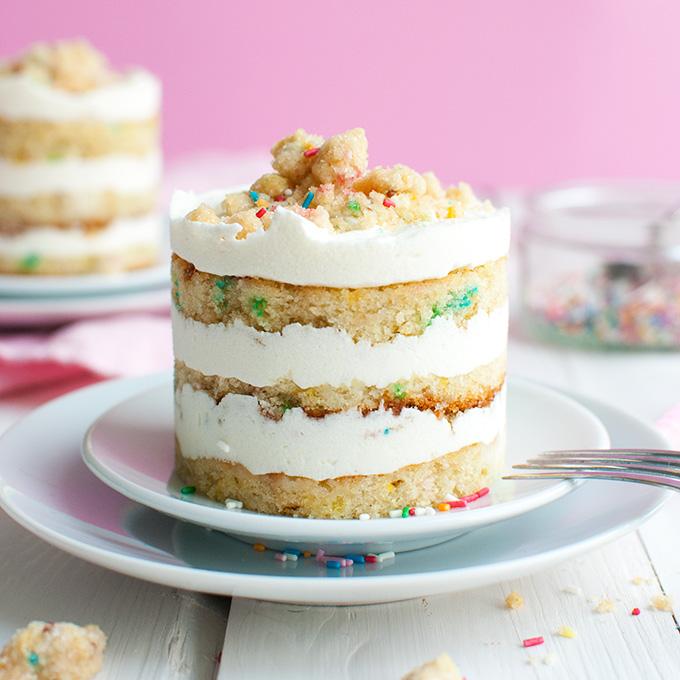 Mini Momofuku Birthday Cakes