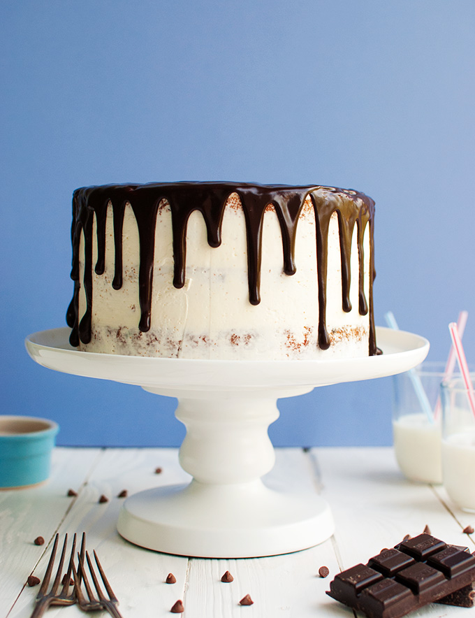 Chocolate Chip Glaze For Cake