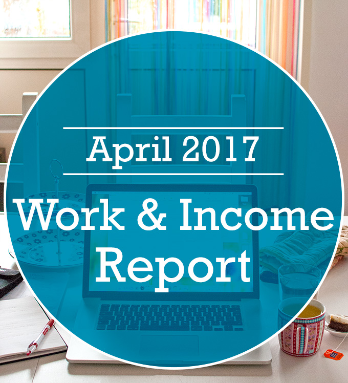 Food Blog Work & Income Report - April 2017