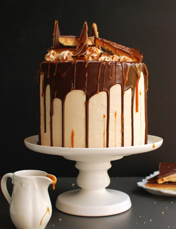Millionaire's Shortbread Cake
